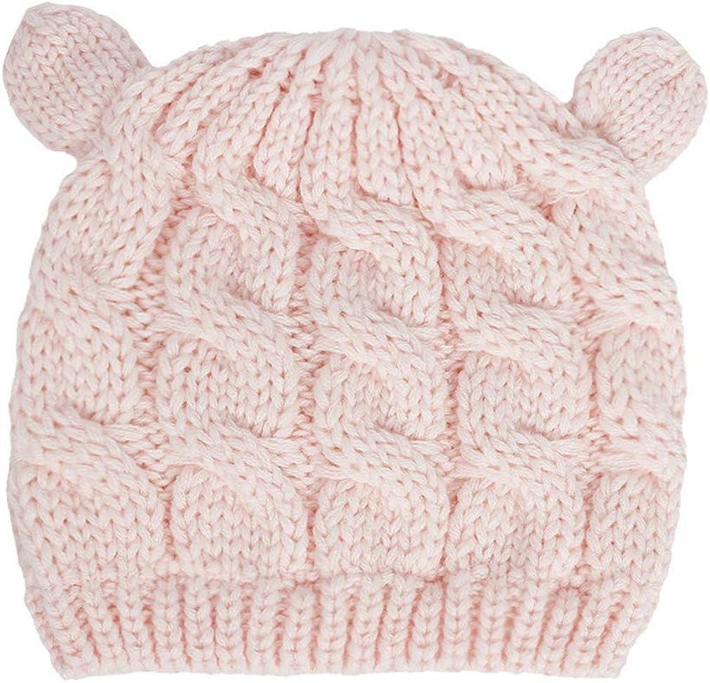 per neonati da 0 a 18 mesi con cappelli invernali in maglia Cappello e guanti da bambino berretto da bambino GEMVIE