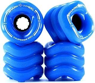 Shark Wheel 1001S60MMS78AB Cruiser Wheels, 60mm, Blue, California Roll Skateboard Wheels