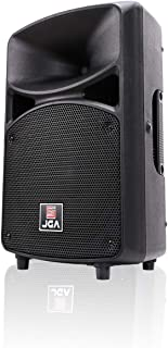 Active PA Speaker System, 8 inch Compact And Portable DJ speakers with Bluetooth MP3/SD/FM/Remote Control/Wired microphone-JGA ELECTRONICS
