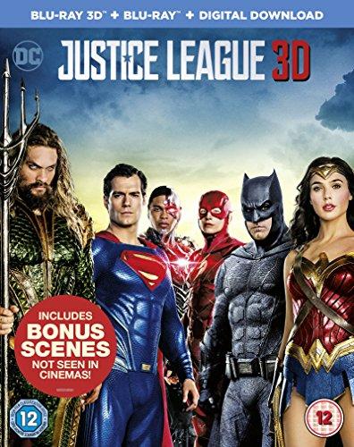Justice League [Blu-ray 3D + Blu-ray Digital Download] [2017]