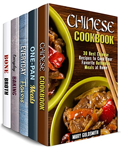 Authentic Comfort Box Set (5 in 1): Over 150 Chinese, One-Pan, Baked Treats, Soups and Flavors to Add Diversity to Your Cooking Routine (Traditional Recipes) (English Edition)