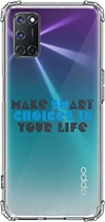 Stylizedd Classic Clear Case for Oppo A92 Soft Anti Drop Airbag TPU Gel Thin Transparent Flexible Shockproof Cover [ Desig...