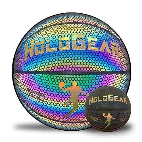 HoloGear Holographic Reflective Basketball - Flash Reflective...