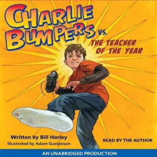 Charlie Bumpers vs. the Teacher of the Year audiobook cover art