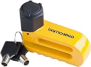 Barrichello(バリチェロ) スーパーディスクロック 盗難防止 セキュリティ ディスクロック R 保証付き 95mm