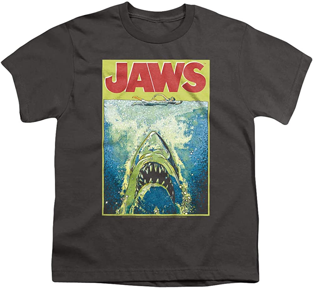 Jaws Bright Jaws Unisex Youth T Shirt