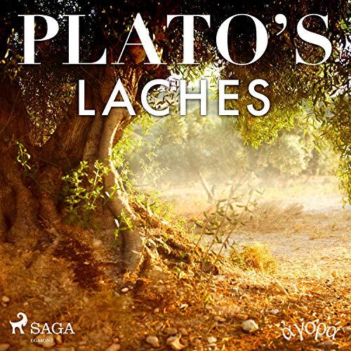 Plato's Laches audiobook cover art