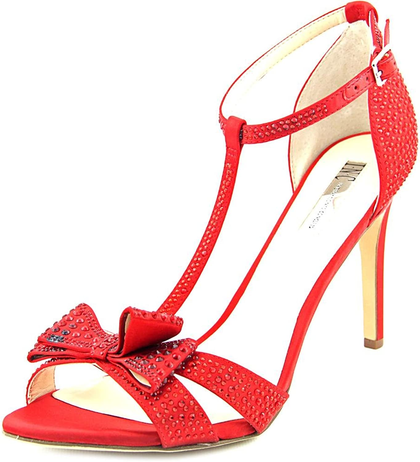 INC International Concepts Reesie 2 Women Red Sandals, Spicy Red, Size 7.5