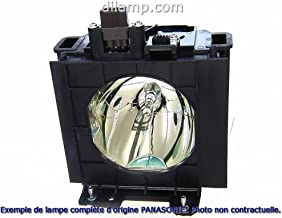 PT-DX500E Panasonic Twin-Pack Projector Lamp Replacement. Projector Lamp Assembly with Genuine Original Ushio Brand Bulb I...