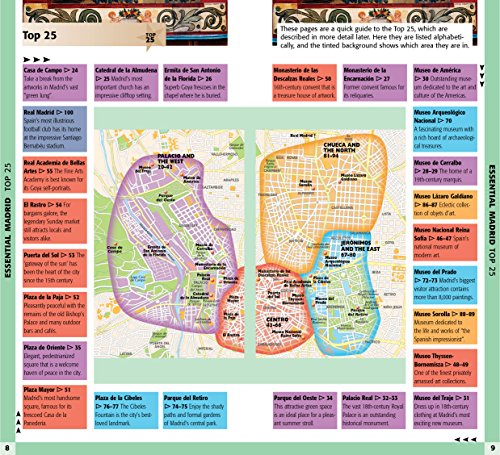 Fodor's Madrid 25 Best (Full-color Travel Guide (7))