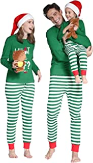 Family Matching Christmas Pajamas Set, Elf Christmas Pjs and Pajama Pants Set