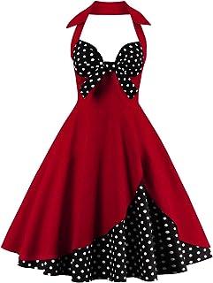 871221e7c1c FTVOGUE Jupes Vintage  Robe Vintage pour Femme