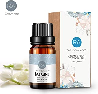 Jasmine Essential Oils - 100% Pure Natual Plant Olis, Best Therapeutic Grade - Aromatherapy, Massage,Beauty - 10mL