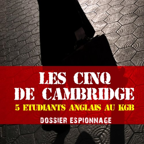 Les cinq de Cambridge cover art