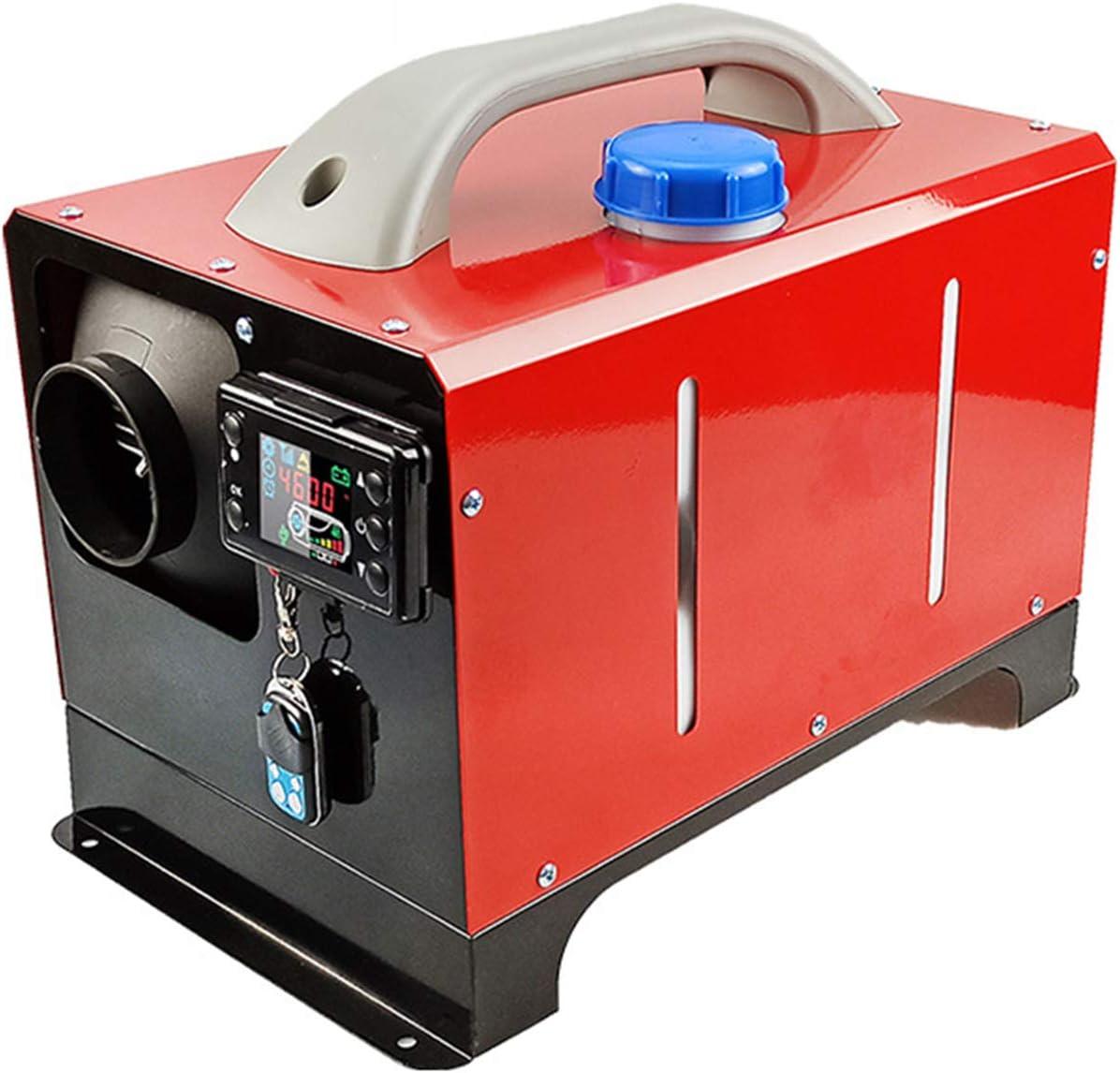 QIAO 8KW 12V 24V Calentador de Combustible Calefacción Estacionaria Diesel con Monitor LCD para Furgonetas, remolques de automóviles,Barcos,8kw,12V