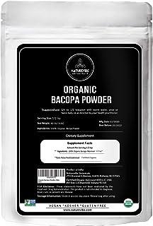 Sponsored Ad - Naturevibe Botanicals Organic Bacopa Powder 5lbs | Bacopa Monnieri | Gluten Free and Non-GMO | Herbal Suppl...
