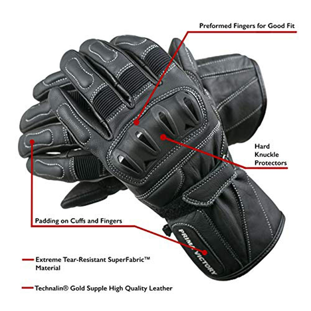 POLARIS Leather Touring Reinforced Protectors