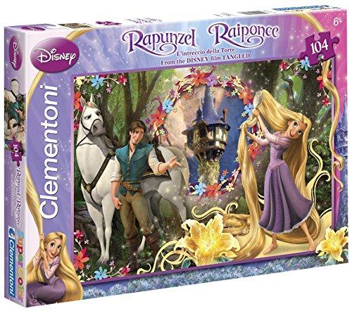 Clementoni 27772.8 - Puzzle 104 teilig Rapunzel, let down Your Hair