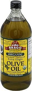 BRAGG Organic Extra Virgin OLIVE OIL, 32 OZ (Pack of 3)