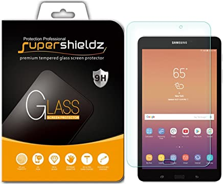 Supershieldz for Samsung Galaxy Tab A 8.0 inch (2017) [SM-T380 Model Only] Tempered Glass Screen Protector, Anti-Scratch, Bubble Free, Lifetime Replacement