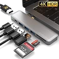 dodocool USB C Hub HDMI Adapter for MacBook Pro 2019/2018/2017/2016, MacBook Air 2019/2018, USB C...