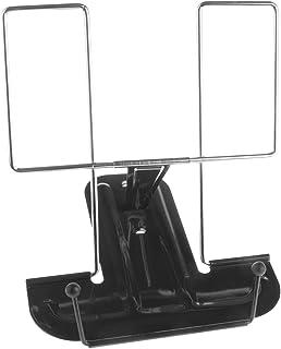comprar comparacion MP - Atril de Escritorio Metálico de 3 Inclinaciones, Portátil, Negro - 16 x 16.3 x 17 cm