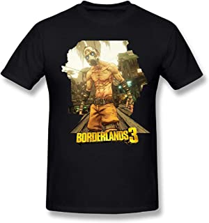 BordDerlands 3 Games Shirt for Mens Contton t Shirts Black