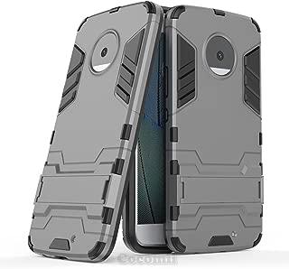 Cocomii Iron Man Armor Motorola Moto X4 Case New [Heavy Duty] Premium Tactical Grip Kickstand Shockproof Hard Bumper Shell [Military Defender] Full Body Dual Layer Rugged Cover for Moto X4 (I.Gray)
