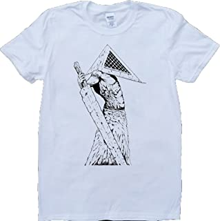 Silent Hill Pyramid Short Sleeve Crew Neck Custom Made T-Shirt