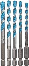Bosch Professional 2608589530 Brocas, 0 W, 0 V, Multicolor, Set de 5 Piezas