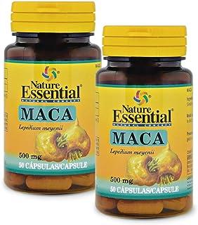 Maca 500 mg. 50 capsulas (Pack 2 unid.)
