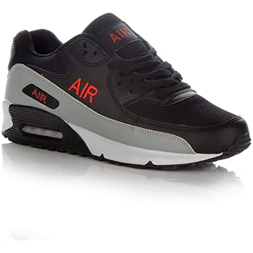 8eea7d0540df9 Mens Shock Absorbing Air Running Trainers Jogging Gym Fitness Trainer Shoes  Sizes 7-12 UK