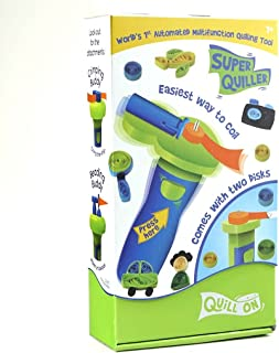 QUILL ON - Super Quiller - Automated Multifunction Quilling Tool- Blue