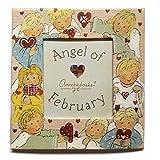 Gnomys Diaries Angel De Febrero Marco de Fotos con Iman, Cartón, Multicolor, 6x0.2x8 cm