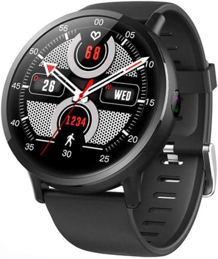 YZ-YUAN Monitores de Actividad, Podómetros rastreadore con SmartWatch Android 7.1 LTE 4G Sim WiFi, 2.03 Pulgadas, cámara de 8MP, Ritmo cardíaco GPS, IP67 Smartwatch Impermeable para Hombres, Mujeres