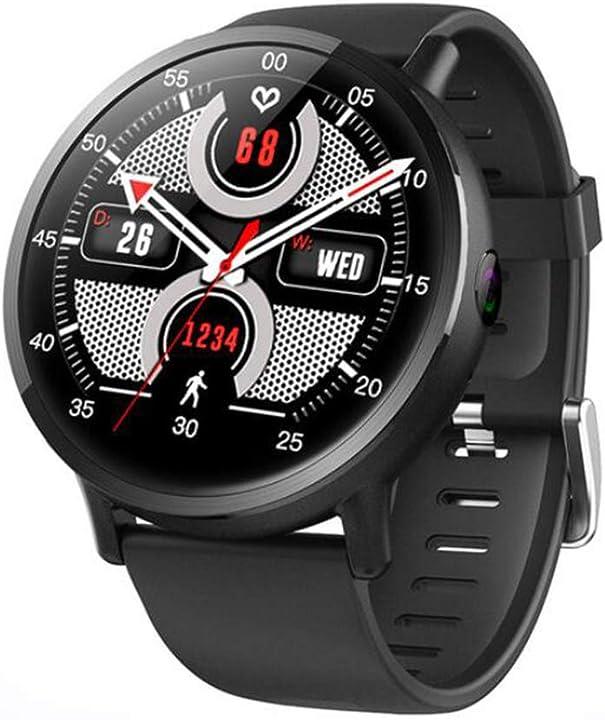 Smartwatch android 7.1 lte 4g sim wifi, 2.03 pollici 8mp fotocamera gps frequenza cardiaca unisex yz-yuan 142-591-720