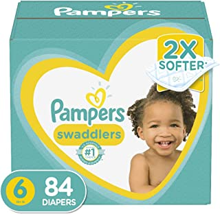 Diapers Newborn / Size 0 (< 10 lb), Pampers Swaddlers Disposable Baby Diapers, Enormous Pack, 140 Count