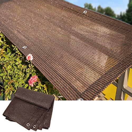 Toldo Vela De Sombra, Malla de Sombra Cubrir Tela de Sombra para Plantas Al Aire Libre Bloqueador Solar Resistente A Los Rayos UV Bloqueador Solar Patio Lona, 21 Tallas ALGFree