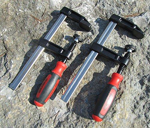 CORVUS Kinder Werkzeug Schraubzwinge 2er Set 150x50mm Top Qualität