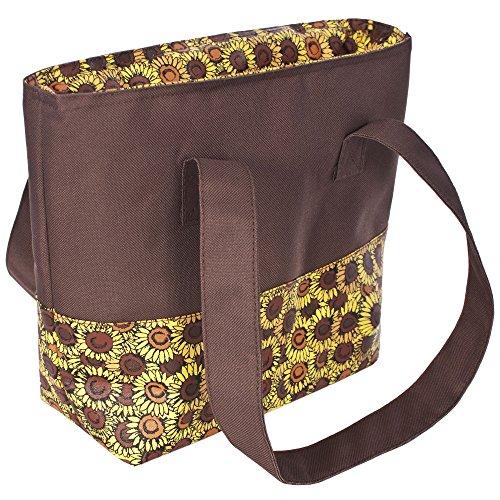 Trespass Damen Kühltasche Pack mit Sonnenblumen Print (Einheitsgröße) (Sonnenblumen)