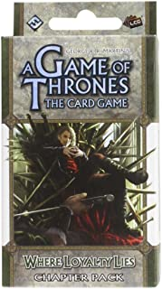 A Game of Thrones: The Card Game - Where Loyalty Lies Chapter Pack