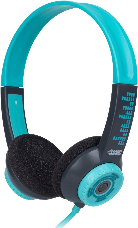 FSL Protec Kids Headphones with Adjustable Volume Limiting (Aqua)