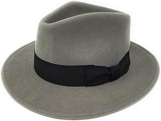 77da19e5c Amazon.co.uk: Grey - Fedoras & Trilby Hats / Hats & Caps: Clothing