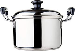 Dolphin Collection DXD007 Stainless Steel Saucepot, 3.05L (Sandwich Base)
