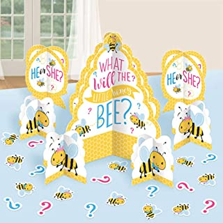 Baby Shower 'What Will it Bee?' Table Decorating Kit (27pc)