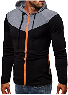 Sudadera con capucha para hombre, deportiva, informal, de manga larga, transpirable, para el tiempo libre, de manga larga,...