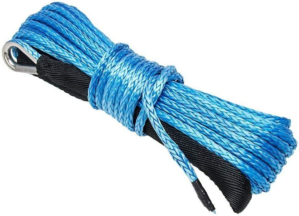 Gator parts Synthetic Winch Department store Line Cable Rope 1 Under blast sales 50 4 Feet 7 x Inch