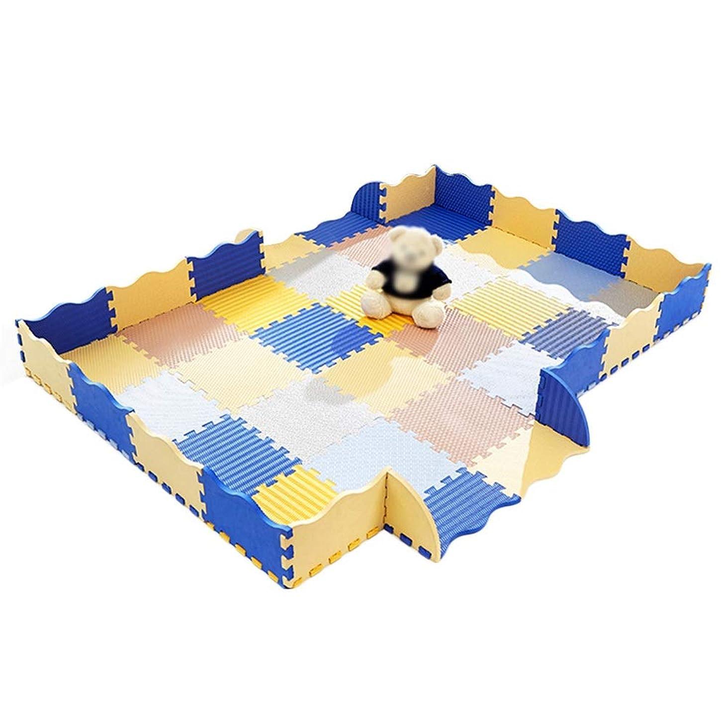 LIQICAI ジョイントマット フロアマット 子供の泡プレイマットベビープレイマットフェンス用タイル 厚い 防水性と洗える 赤ちゃんへの贈り物 (Size : 30x30x1.4cm-36 pieces)