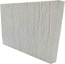 BXI Ceramic Fiber Thermal Insulation Board (2732F) - Inorganic - Flame Retardant, Heat Resistant (12'' X 8'' X 0.4'')