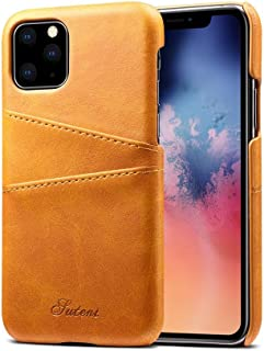 Jonerytimefor iPhone 11ProMax 6.5inch Wallet Phone Case Slim PU Leather Back Protective Case Cover with Credit Card Holder